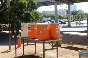Free Water Provided at Town Lake!