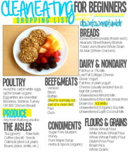 Clean Eating for beginners Pic