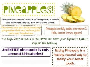 Eating Pineapples