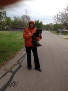 Walking the dog 1