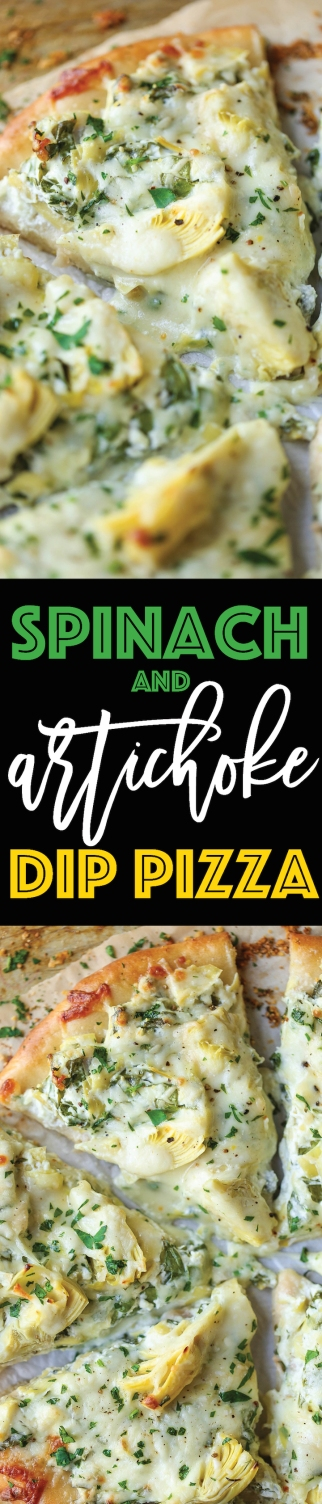 Spinach-and-Artichoke-Dip-Pizza