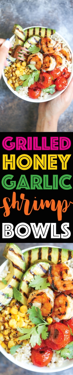 Grilled-Honey-Garlic-Shrimp-Bowls