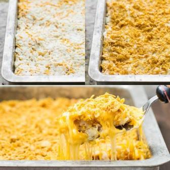 Cheesy-Potato-Casserole-Culinary-Hill-collage