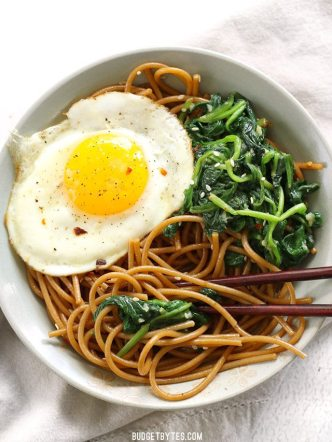 Sesame-Noodles-with-Wilted-Greens-and-Fried-Egg-Vs