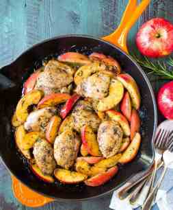 Easy-Apple-Cider-Chicken-Skillet