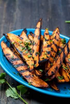 Smokey-Grilled-Sweet-Potato-Wedges