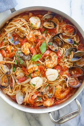 one-pot-seafood-pasta
